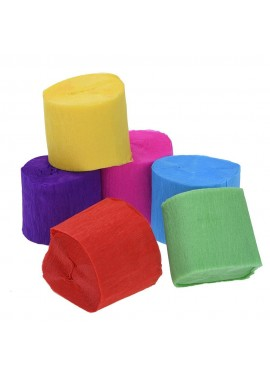 3PCS Paper Roll Fold Paper Roll 9 Meters Wrinkle Roll Each Roll Is About 9 Meters Long