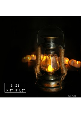 Creative Candle Light Solar Light Led Light Diameter 10.5* Height 19.0CM