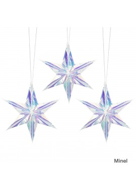 Pull Flower Pendant Five-Pointed Star 40CM