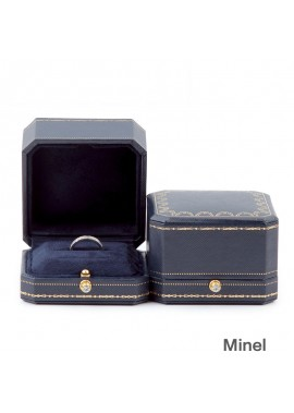 Jewelry Box Wedding Ring Box Length 8.5CM Width 9.0CM Height 6.CM