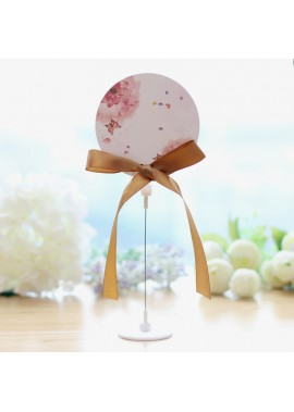 Wedding Banquet Number Plate Custom Table Seat Plate Round Height 40CM