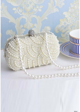 New Luxury Diamond-Set Pearl Handbags T901556068854