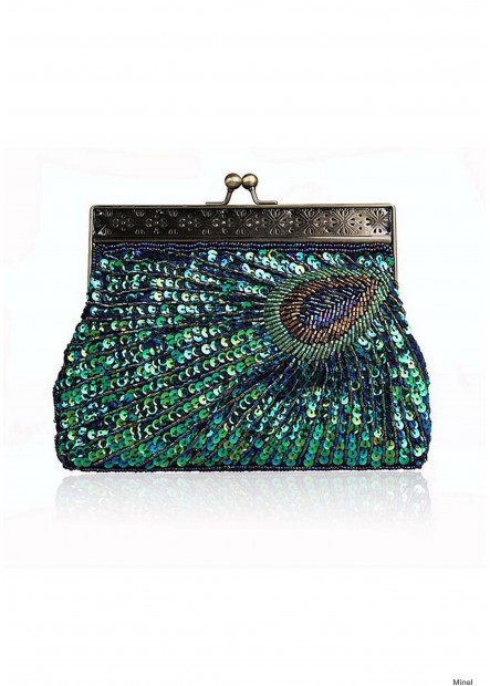 Fine Beaded Bag Retro Handbags T901556085310