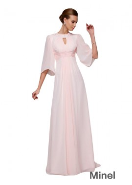 Minel Mother Of The Bride Evening Dress