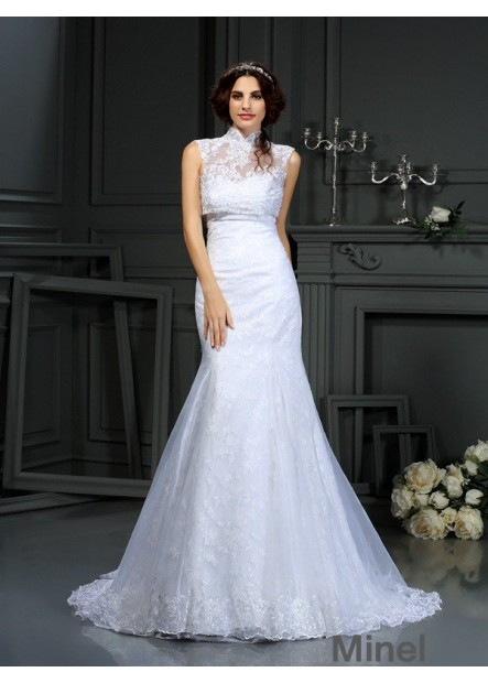 Minel 2020 Lace Wedding Dress