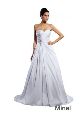 Minel 2021 Beach Wedding Ball Gowns