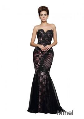 Minel Sexy Mermaid Prom Evening Dress