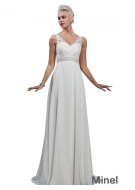 Minel 2021 Beach Wedding Dresses