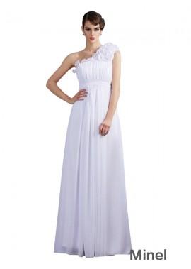 Minel Bridesmaid Evening Dress