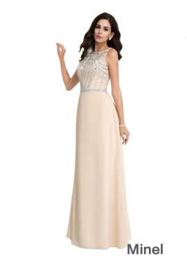 Minel Sexy Evening Dress
