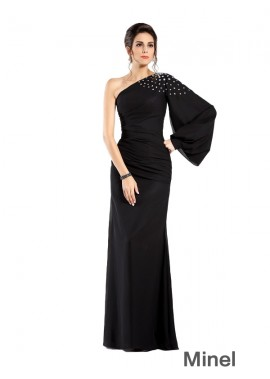 Minel Sexy Mother Of The Bride Evening Dress