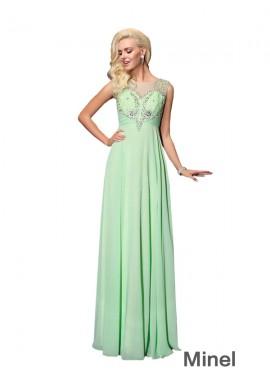 Minel Sexy Long Prom Evening Dress
