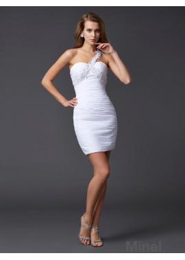 Minel Short Homecoming Prom Evening Dress