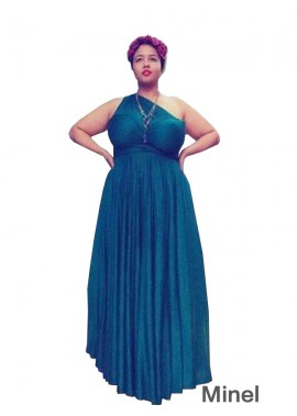 Minel Plus Size Prom Evening Dress