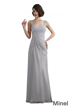 Minel Mermaid Long Prom Evening Dress