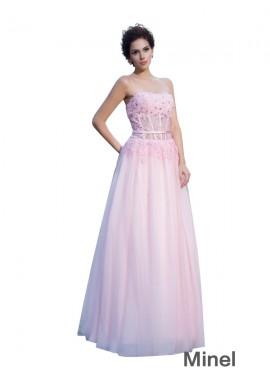Minel Long Prom Dress