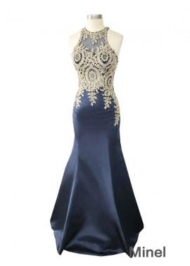 Minel Mermaid Long Prom Evening Dress