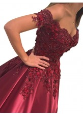 Minel 2021 Red Long Prom Evening Dresses AU
