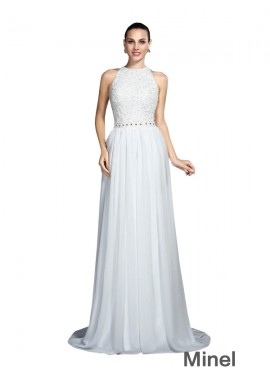 Minel Sexy Prom Evening Dress