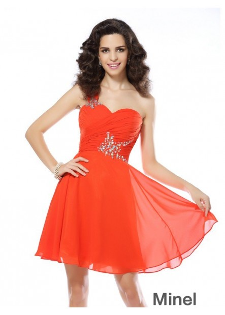 Minel Sexy Short Homecoming Prom Evening Dress