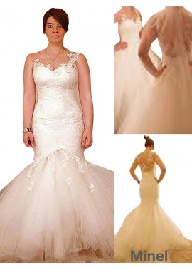 Minel 2021 Plus Size Ball Gowns