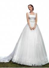 Minel Tulle Cheap Bridal Dresses Online For Sale
