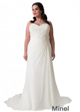 Minel Plus Size Wedding Dress