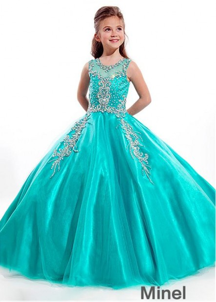 Minel Flower Girl Dresses
