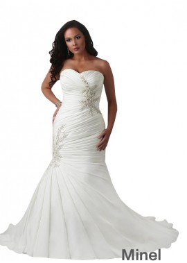 Minel Plus Size Ball Gowns