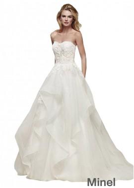 Minel Beach Wedding Ball Gowns