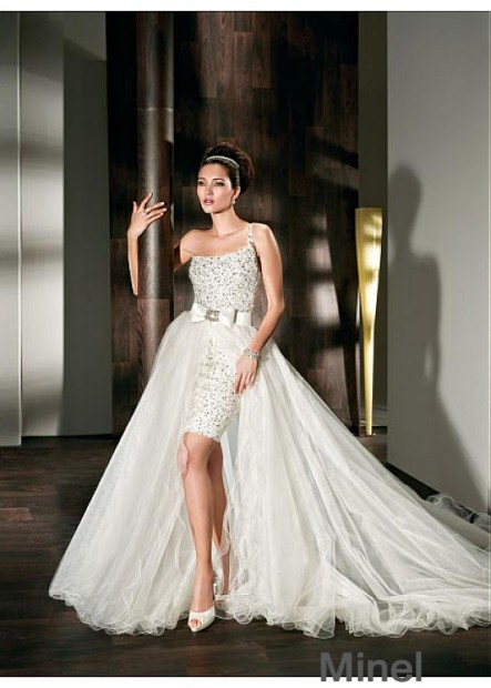 Minel Short Wedding Dress