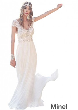 Minel Civil Wedding Dress