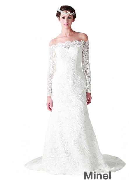 Minel Plus Size Wedding Dress